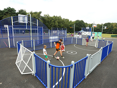 MUGA multisports court